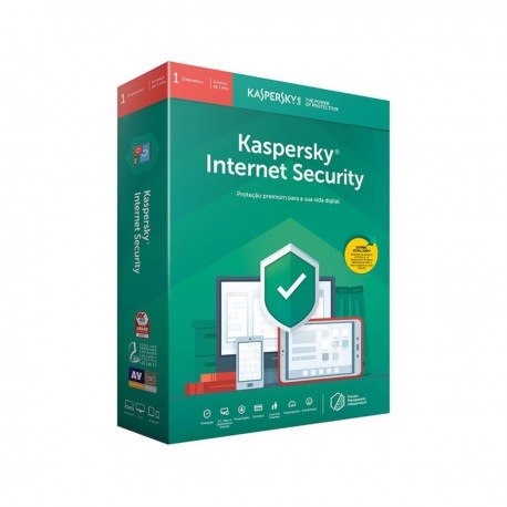 Kaspersky Internet Security 2019 Multi-Dispositivos 3 Users 1 Ano